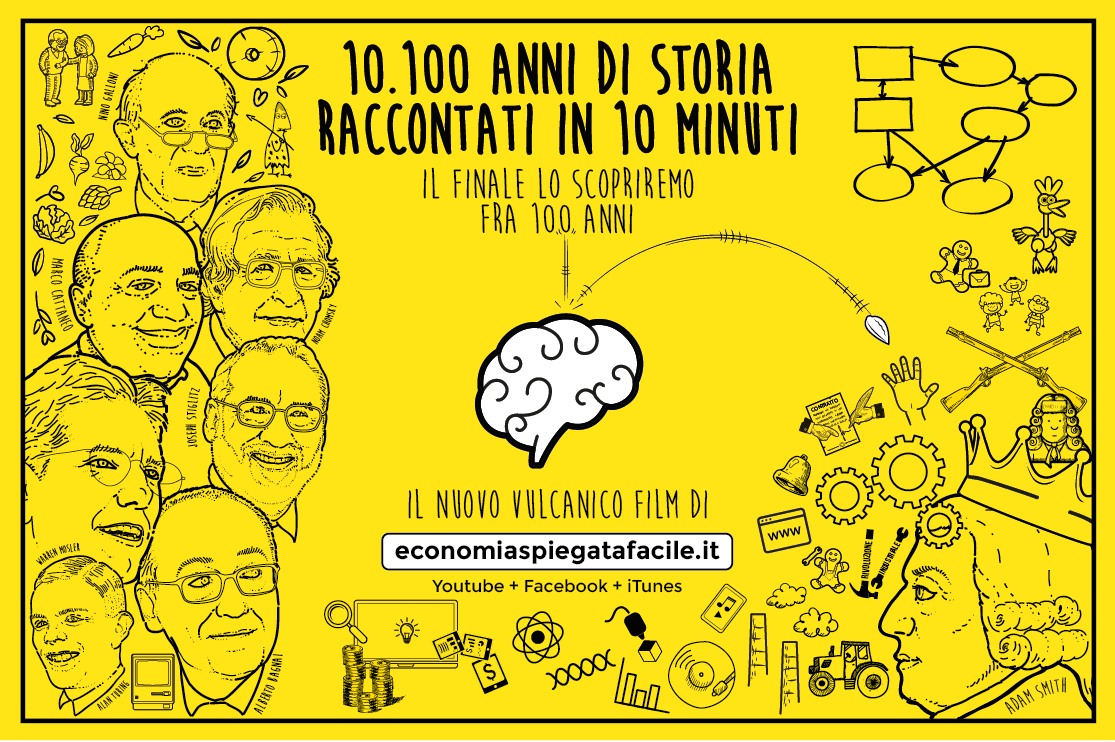 Locandina del film 10.100 anni di storia raccontati in 10 minuti