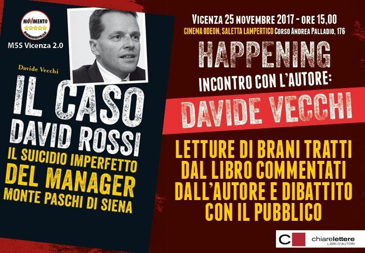 David Rossi, suicidio imperfetto