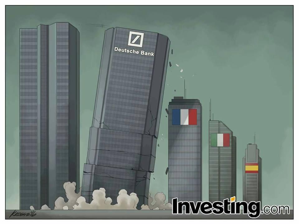 Crollo Deutsche Bank
