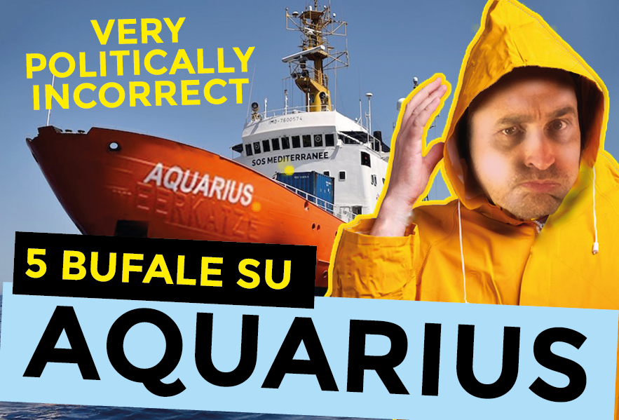 5 bufale su Aquarius