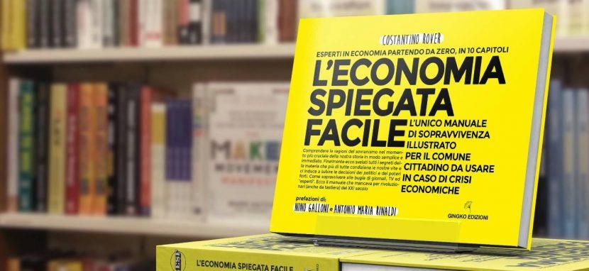 Economia spiegata facile libro per comunicato stampa
