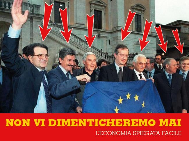 Traditori dell'Italia, non vi dimenticheremo mai