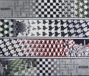 Escher, rapporto figura/sfondo nella Gestalt