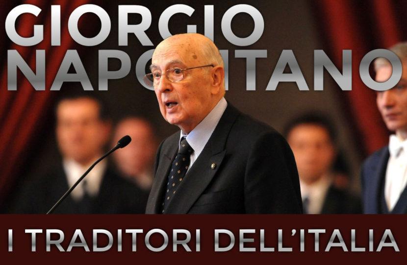 Giorgio Napolitano - i traditori dell'Italia