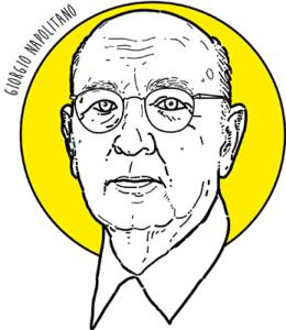 Giorgio Napolitano, ritratto di Costantino Rover ©